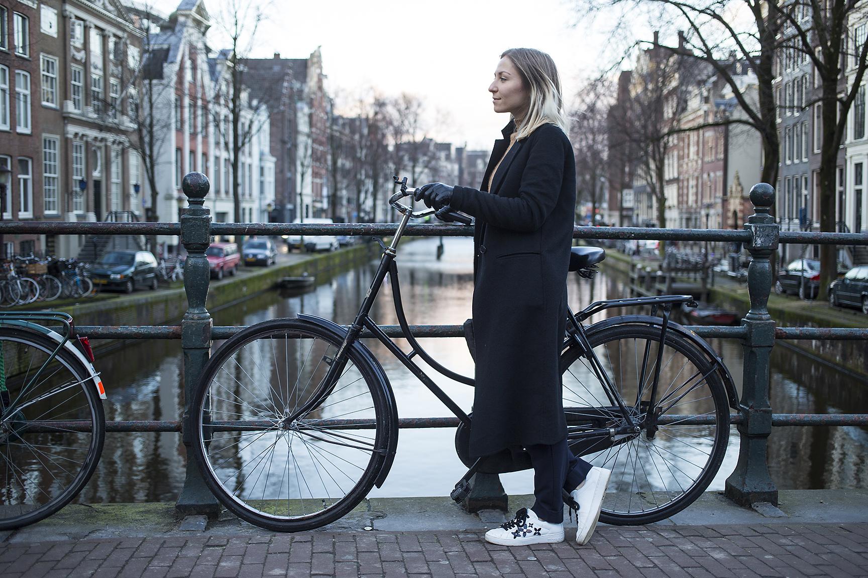 Visite guidée en français, en vélo à Amsterdam