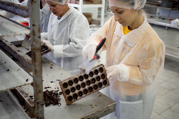 Un week-end fort en chocolat à Puyricard
