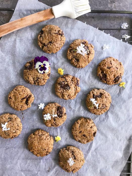 Cookies extra moelleux à l'avoine et au chocolat noir