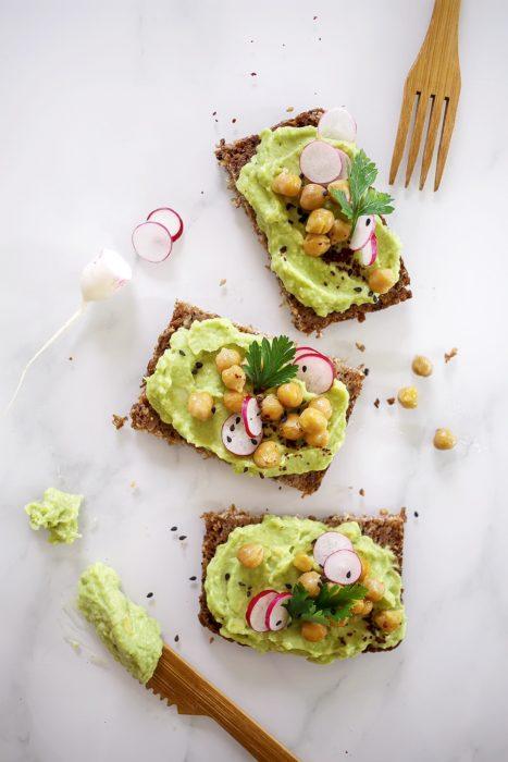La recette inratable de toast guacamole