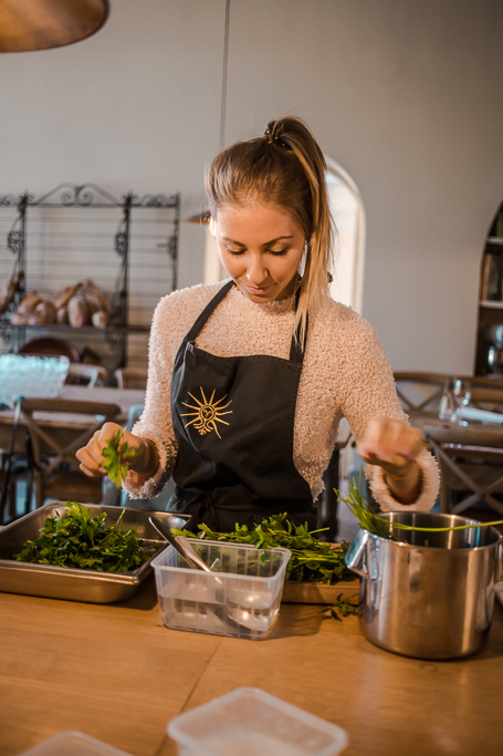 L'école de cuisine · atelier de cuisine gastronomique